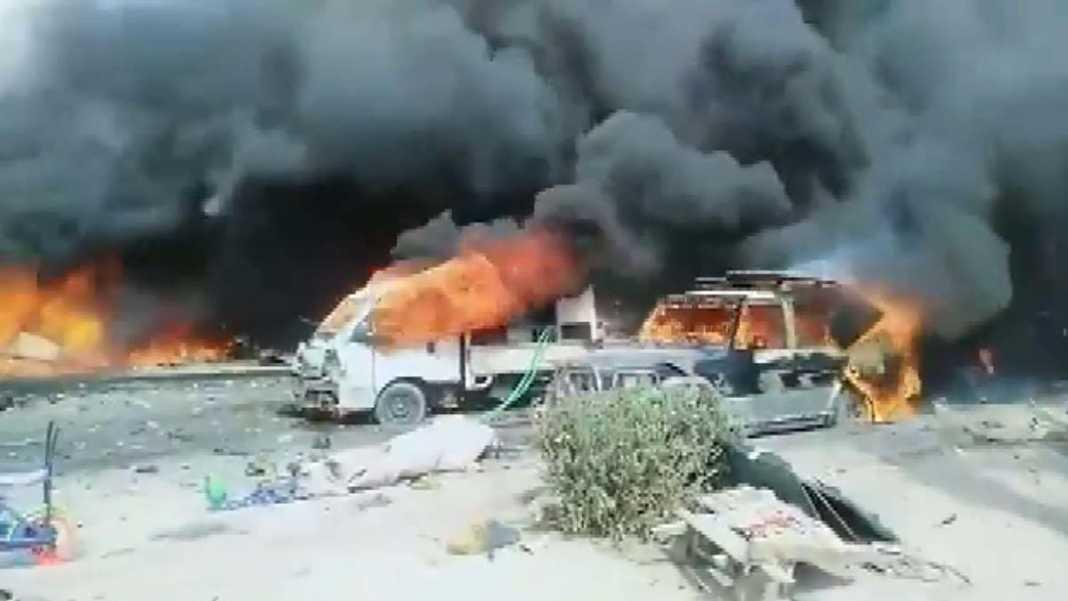 Irak'ta bomba yüklü araç patladı: 1 ölü