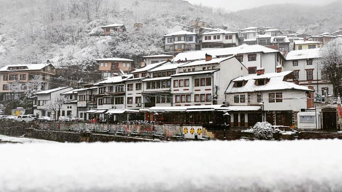 Kosova'da kar sürprizi