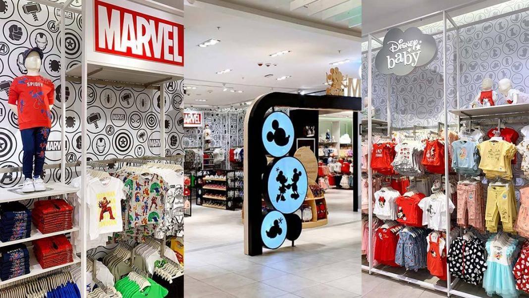Disney at lc waikiki mağazası kapılarını açtı
