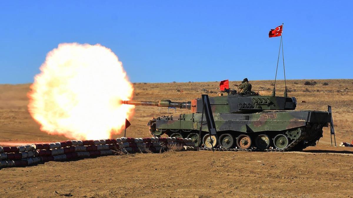 Ankara'da tank topu atışları icra edildi
