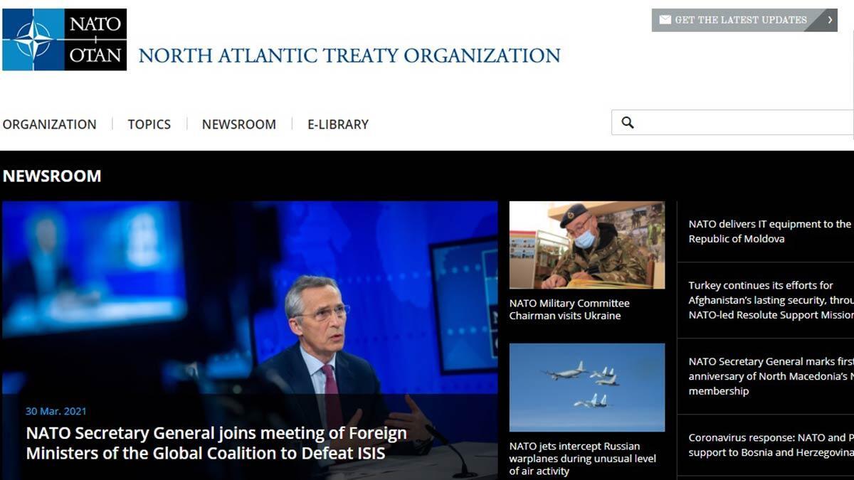 Nato internet sayfasına ukraynacayı ekledi