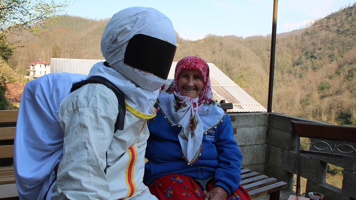 Rizeli astronotlara rusya'dan davet geldi