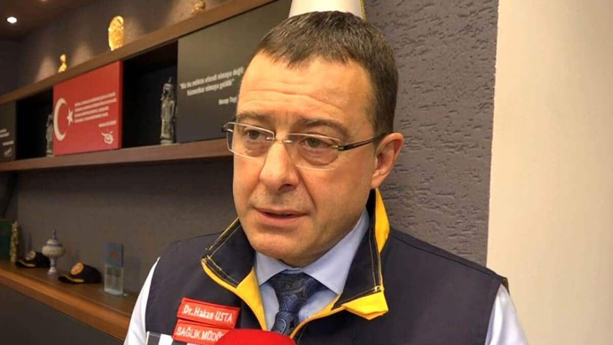 """Trabzon i̇l sağlık müdürü dr. Hakan usta, """"aktif vakalar arasında çocukların oranı yüzde 3. 5 bunların içinde yoğun bakıma yansıyan olabiliyor"""" dedi."""