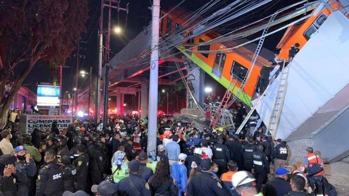 Meksika'da tren faciası: 15 ölü, 70 yaralı