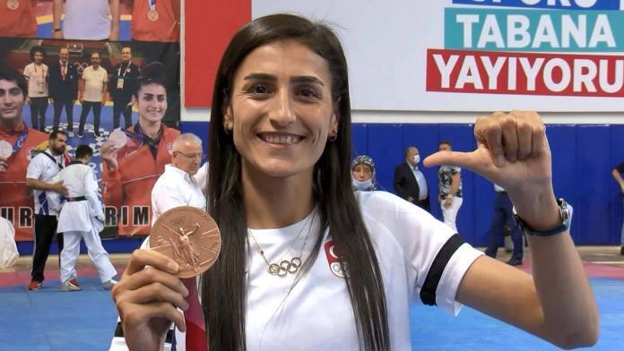 Bronz madalyalı i̇lgün: hedefim paris olimpiyatları