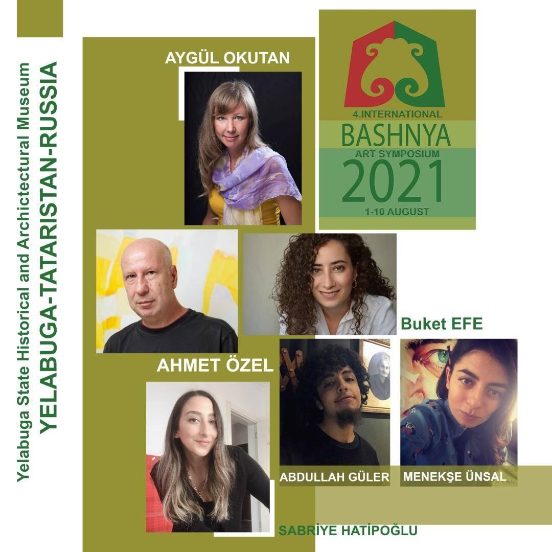 Bashnya sanat sempozyumuna türkiye'den 6 sanatçı