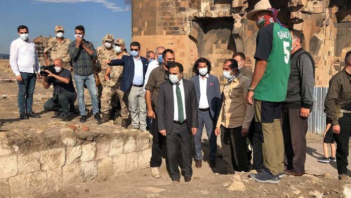 Anadolu'daki ilk türk camisinde restorasyon