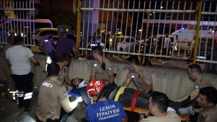İzmir'de kaza: 1 ölü 5 yaralı
