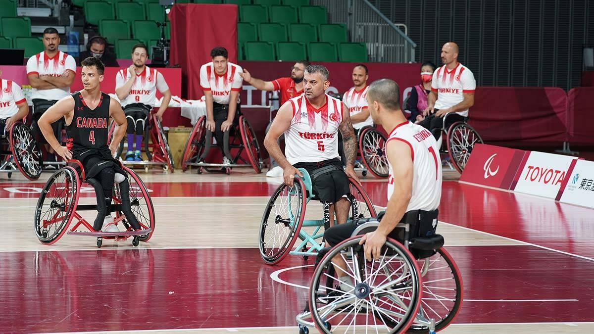 Turkiye tekerlekli basketbol takimi kanadayi maglup etti - basketbol haberleri - haberton