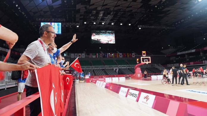 Türkiye tekerlekli basketbol takımı kanada'yı mağlup etti
