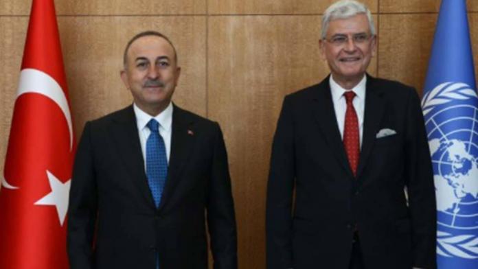 Bm genel kurul başkanlığını ilk kez bir türk üstlendi