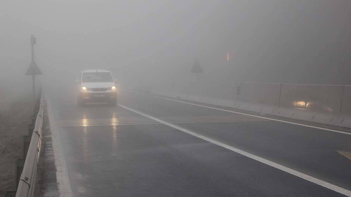 Bolu daginda yagmur ve sis etkili 2 - yerel haberler - haberton