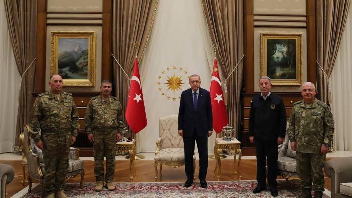 Cumhurbaşkanı erdoğan, azerbaycan bakanını kabul etti