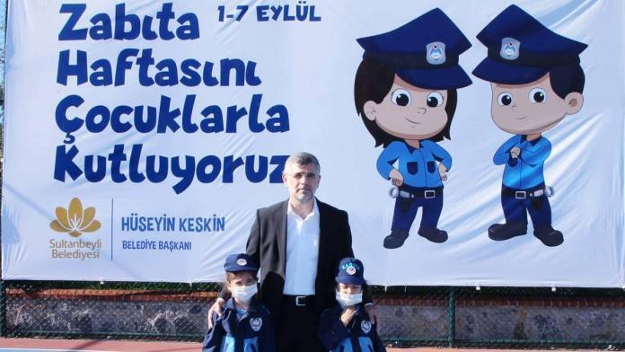 Sultanbeyli belediyesi'nden zabıta haftası etkinliği